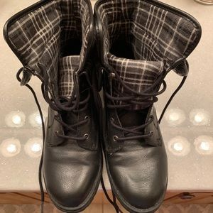 BOC Plaid Combat Boots